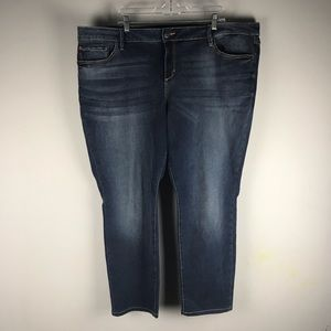 Slink jeans Amber skinny jeans dark wash stretch
